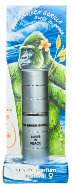 Eau de Parfum ♀- The Green Gorilla Surfs In Peace -  Pocketsprayer - 10ml