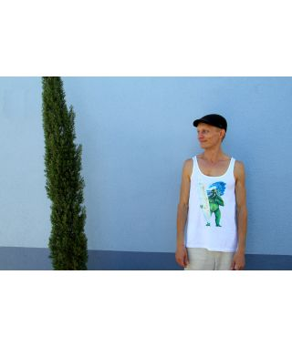 Tank Top Green Gorilla Men