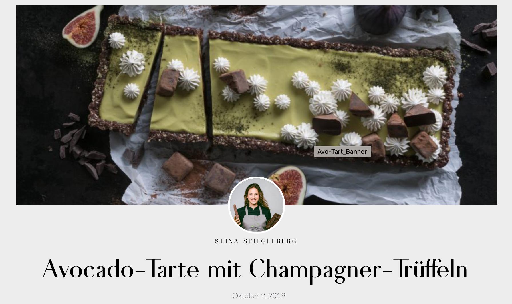Stina Spiegelberg Rezept Tarte mit BoojaBooja